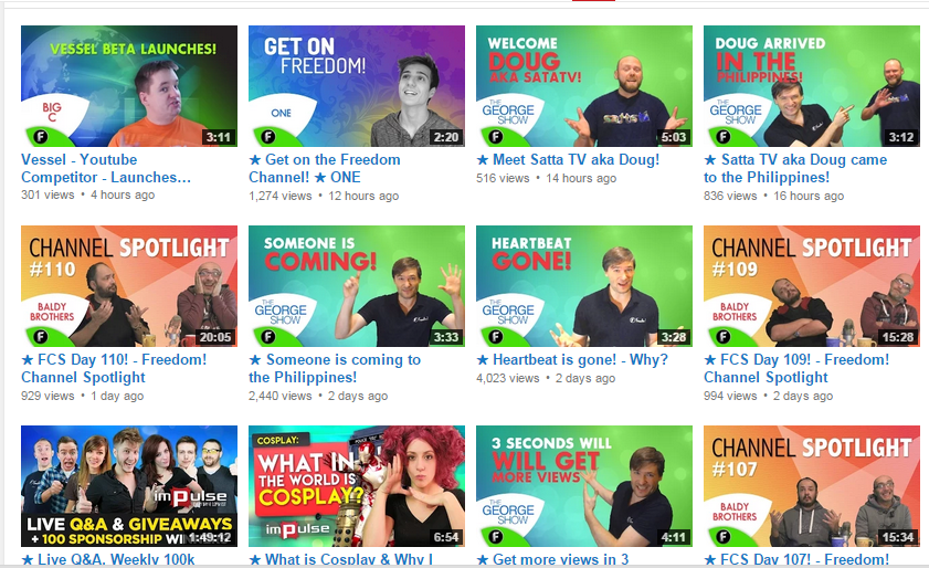 customised thumbnails
