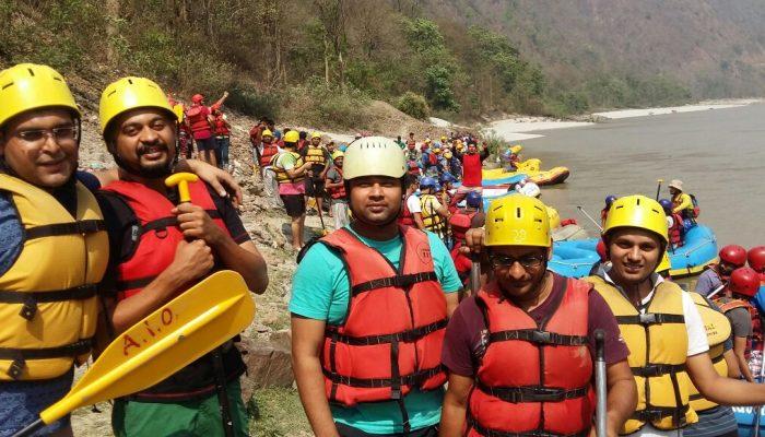vidooly river rafting