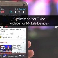 Mobile Optimized YouTube Videos