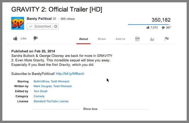 YouTube Credits