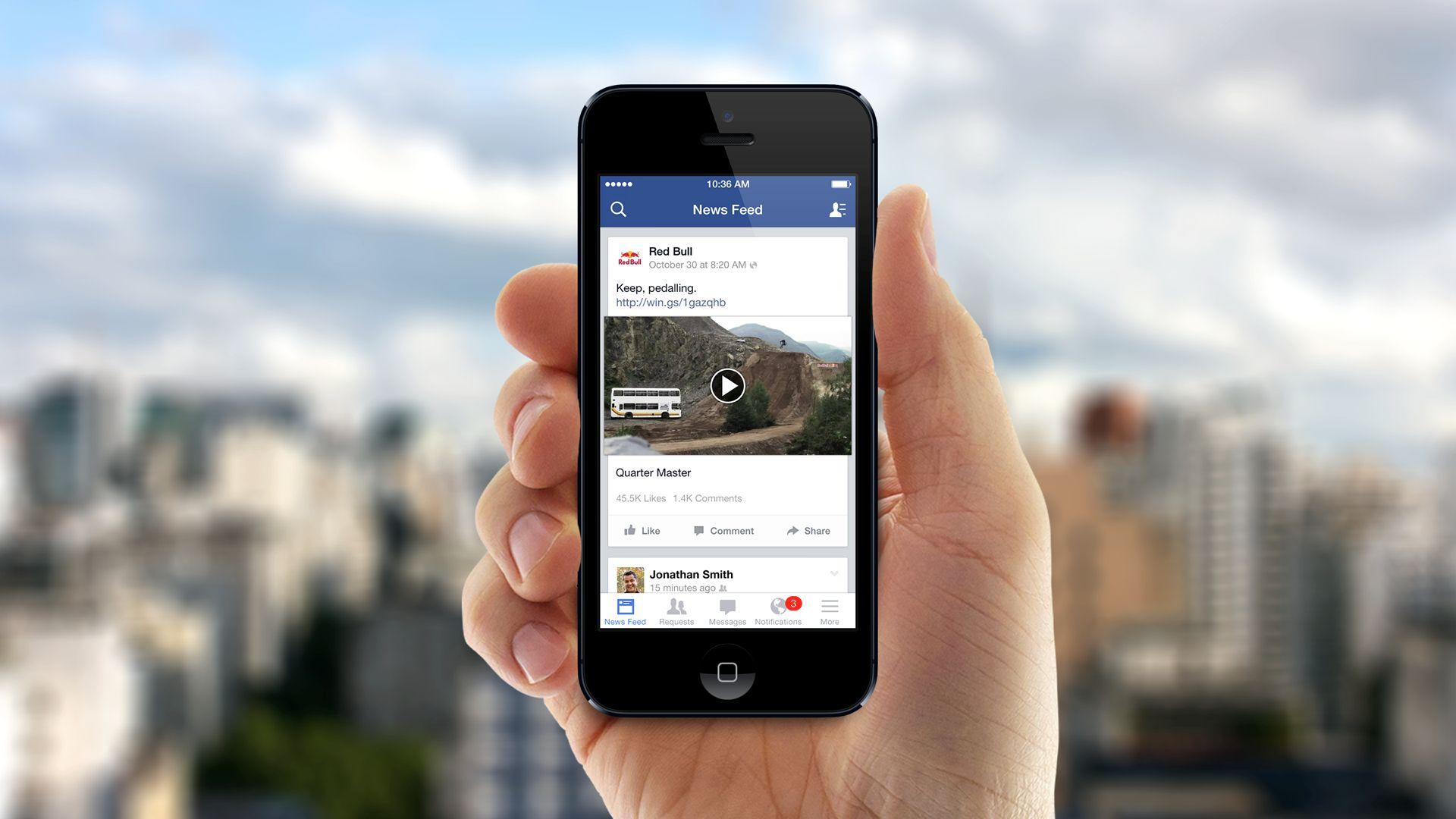 Facebook video creators