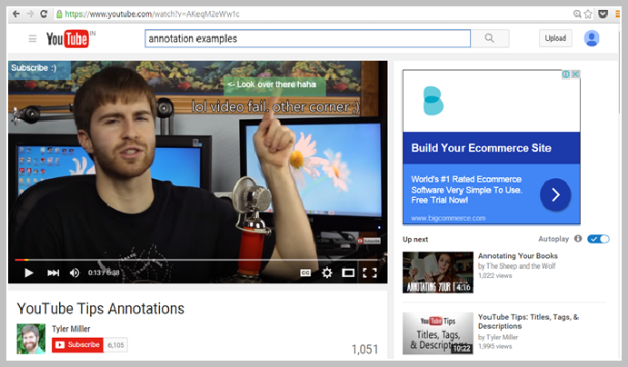 how to add annotations to videos