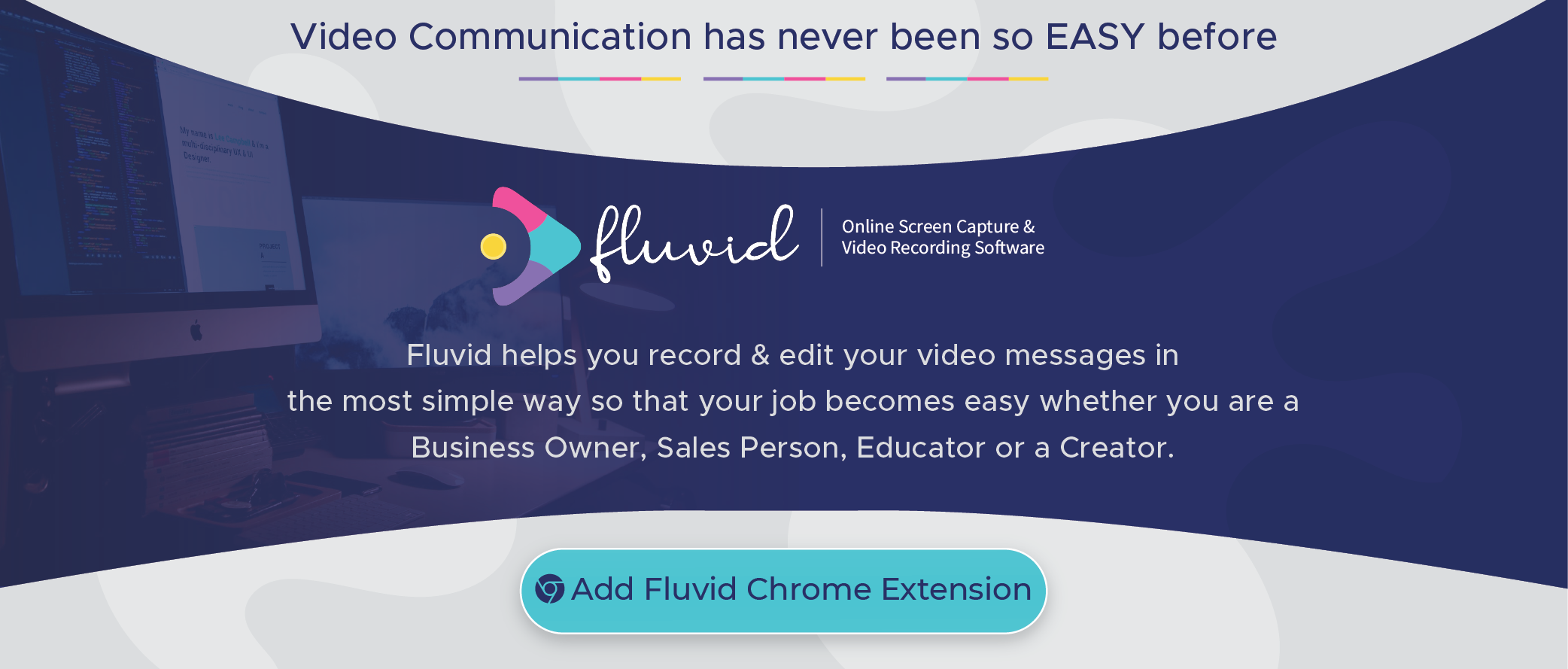 Fluvid - Online Screen & Video Recording Software