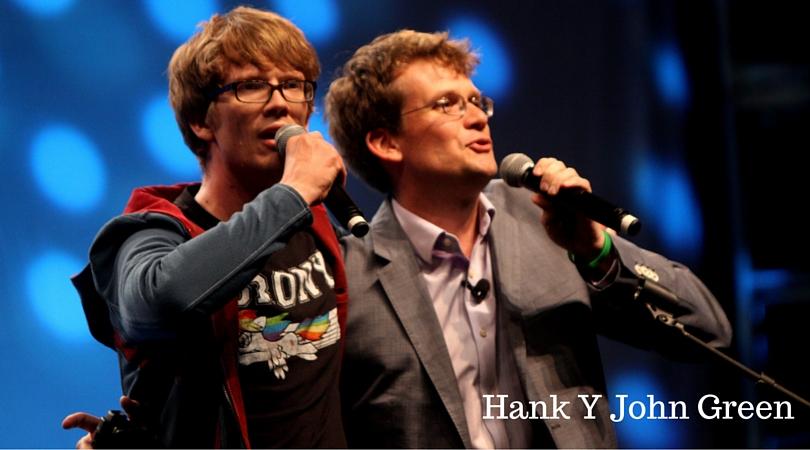 Hank y John Green