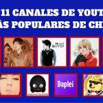 Los 11 canales de YouTube más populares de Chile