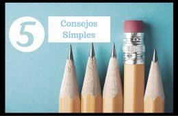 5 Consejos Simples