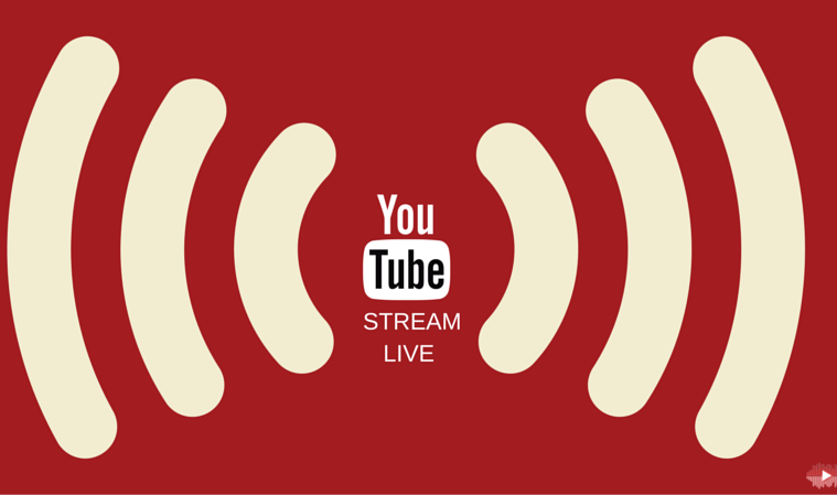 how to stream live on youtube from mac