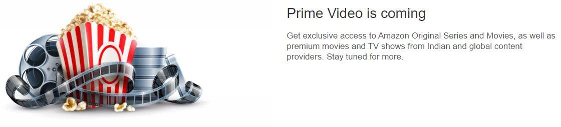 amzon prime video