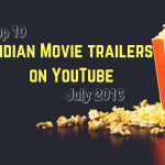 Top Indian movie trailers on YouTube – July 2016