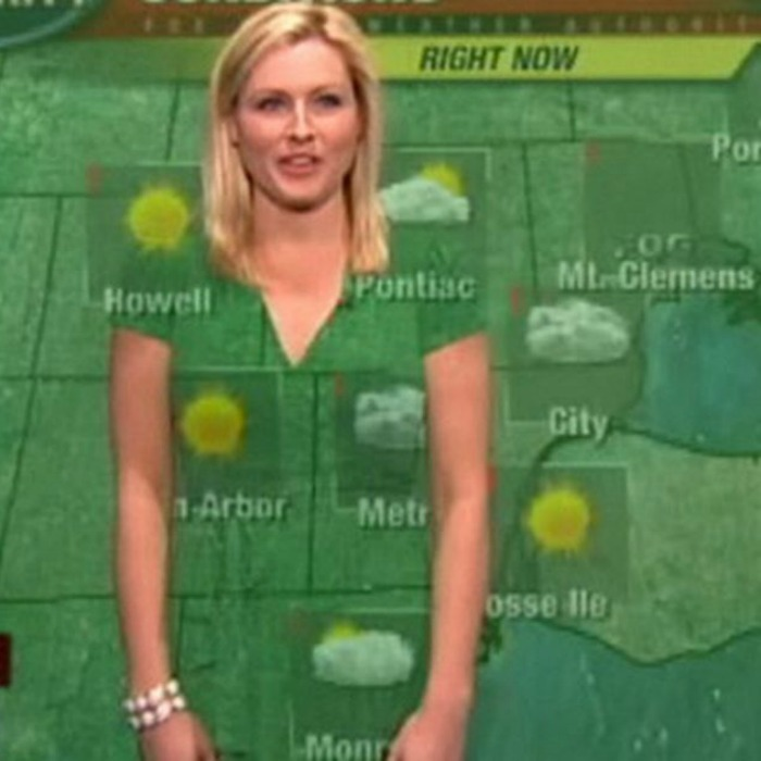 green-screen-weather-forecaster