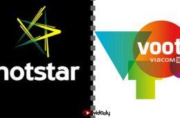 Hotstar vs Voot Vidooly