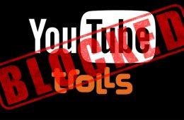 block youtube trolls