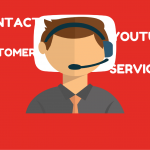 Different ways of contacting the YouTube customer service