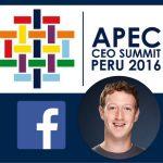 APEC Perú 2016 – Mark Zuckerberg: La Revolución de la Conectividad