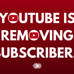 "YouTube is removing subscribers ""Again"""