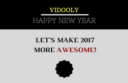 Vidooly new year 2017