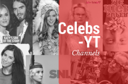 Hollywood celebrities with YouTube channels