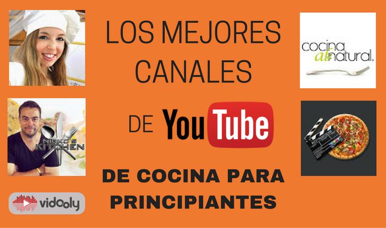 Los mejores canales de youtube de cocina para principiantes for Cocina para principiantes