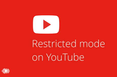 turn on the restricted mode on YouTube