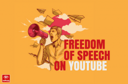 Freedom of Speech on YouTube