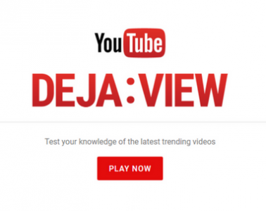 YouTube Deja: View