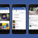 Facebook Watch – Facebook's video platform equivalent to YouTube