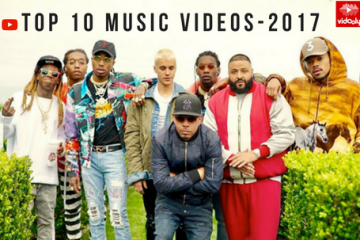 Top 10 Music Videos Of 2017 On YouTube