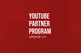 YouTube Partner Program Update