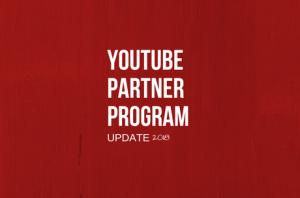 YouTube Partner Program Update
