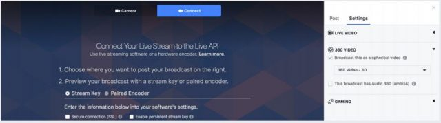 How to upload Facebook VR: 3D-180 Video |