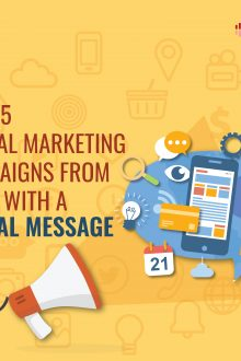 Top Video Marketing Campaigns from India with a message.