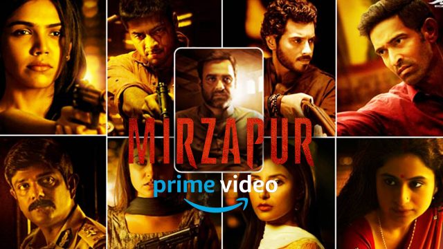Watch Mirzapur online on Amazon Prime Video