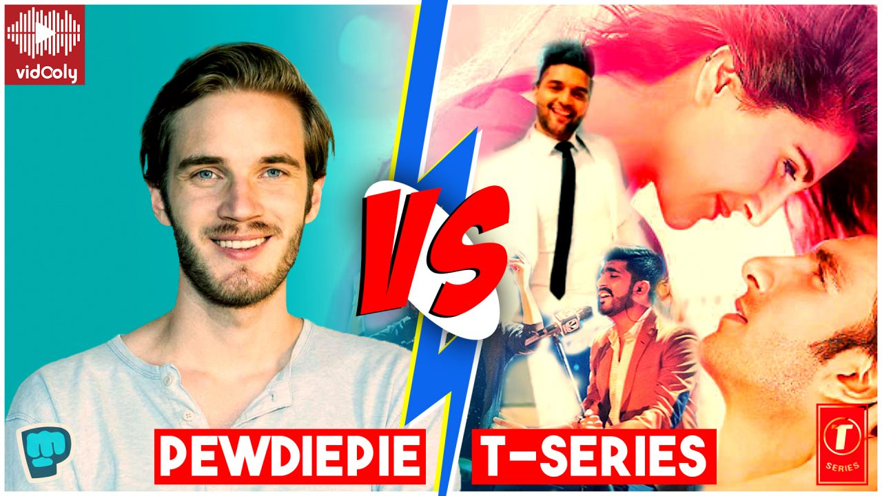 PewDiePie vs T Series: T-Series Gears Up To Win the Subscribers Race