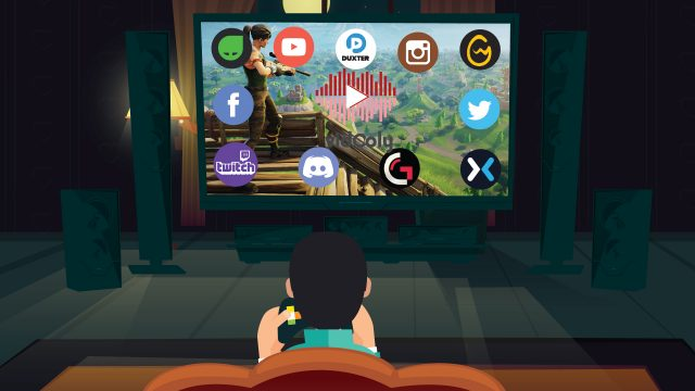 Social Media for Online Gaming