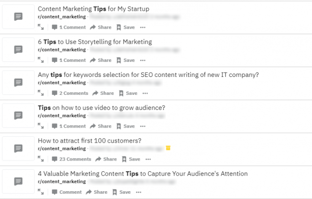 How To Use Reddit To Discover Irresistible Content Ideas?