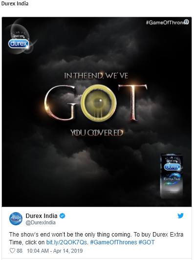 Durex Social Media Posts