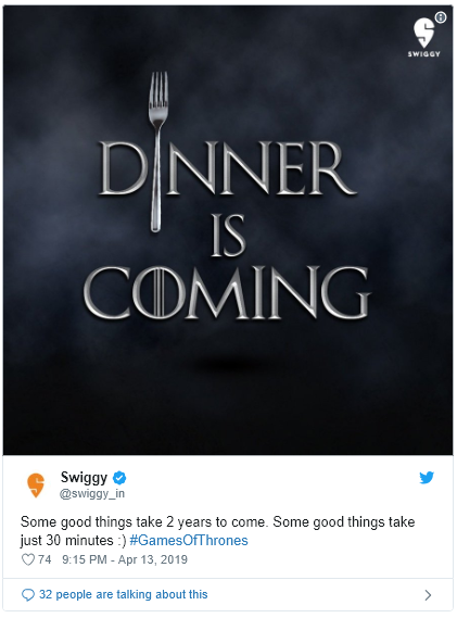 Swiggy Instant Delivery