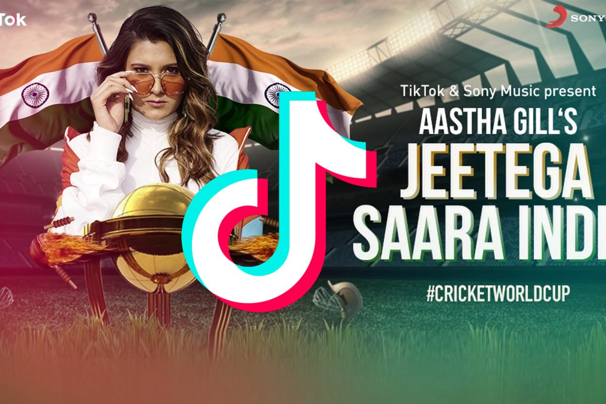 ICC World Cup 2019 anthem 'Jeetega Saara India' ft. Aastha Gill on TikTok rocks India