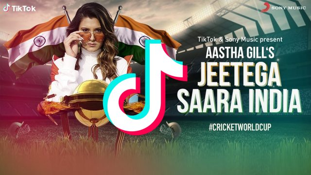 Aastha Gill-TikTok Song ICC World Cup 2019 anthem