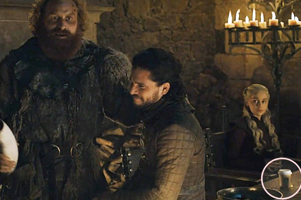 Game of Thrones Goof-Up earns Starbucks $2.3 Billion worth Free Advertisement
