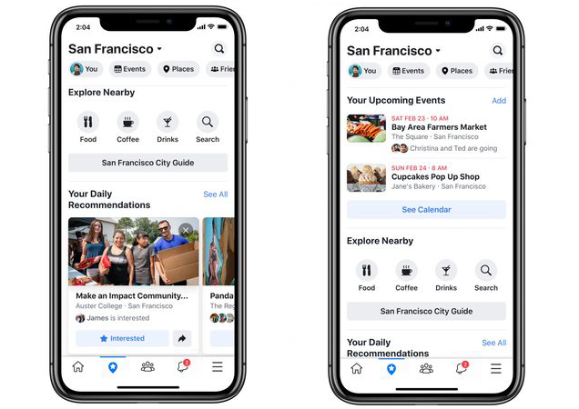 New event features on facebook discussed in f8 conference 2019