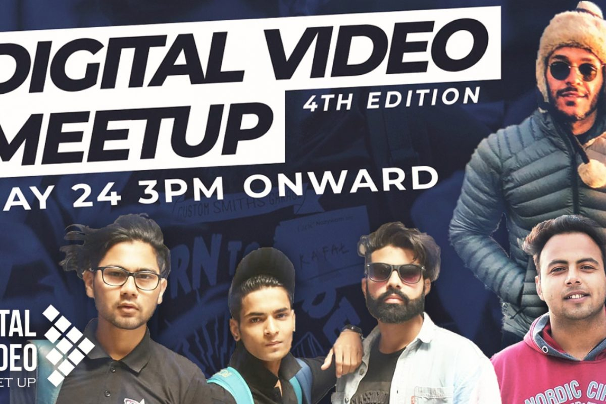 Vidooly Presents Digital Video Meetup (DVM) for Content Creators