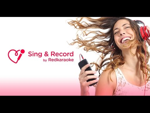 Red Karaoke Singing App