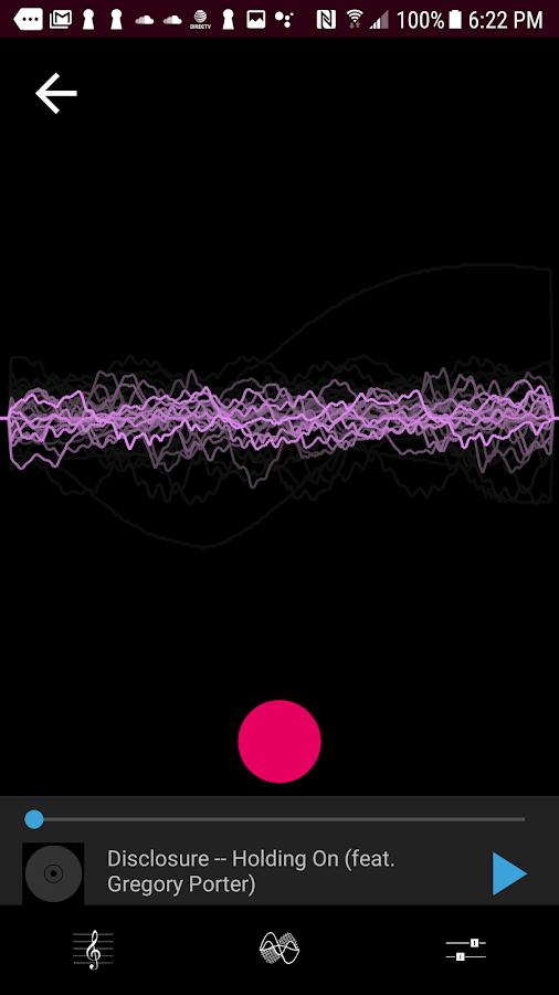 Voloco Autotune app for mobile device