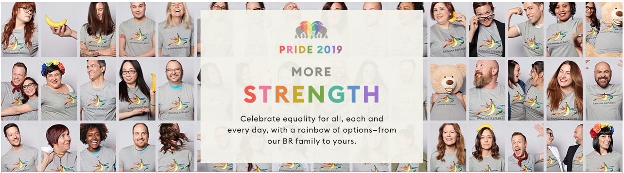 Banana Republic campaign for How Brands are Remarketing their LGBT Support