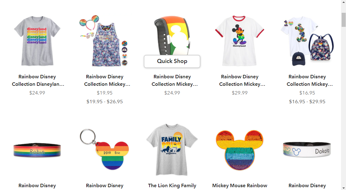 Disney campaign on How Brands are Remarketing their LGBT Support