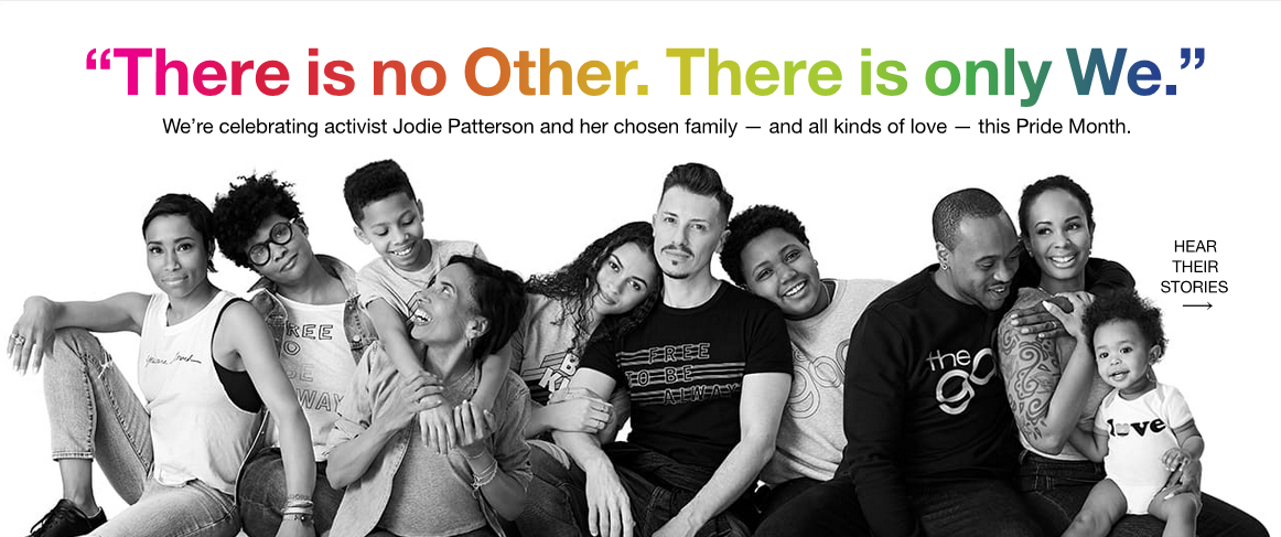 Gap campaign for How Brands are Remarketing their LGBT Support