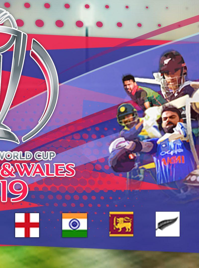 ICC Cricket World Cup 2019 Hashtag Analysis Dashboard