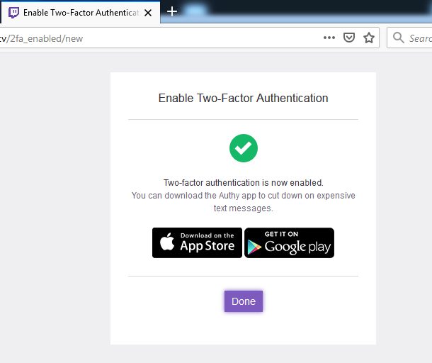 OBS Studio Installation step to after two step authentication-How to Stream on Twitch