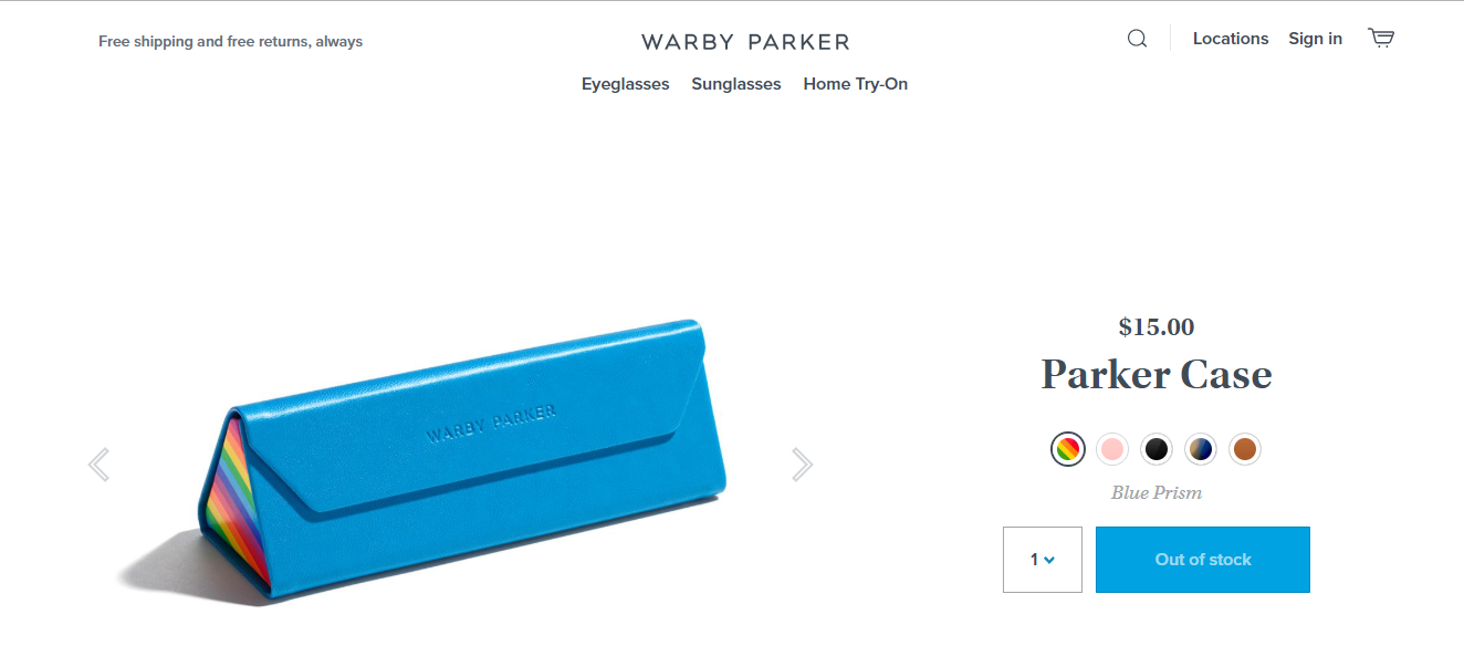 Warby Parker campaign on How Brands are Remarketing their LGBT Support